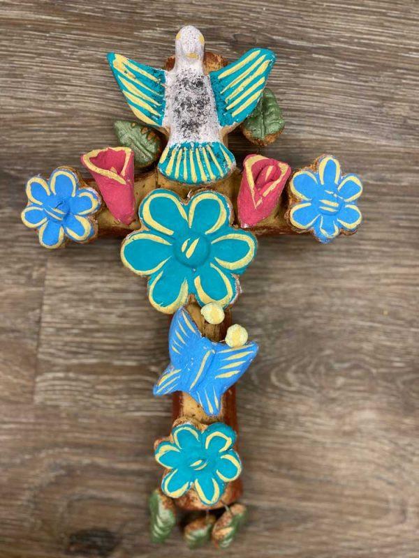 hand made clay cross